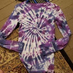 Handmade Tye Dyed Mossimo Long Sleeved Tshirt S